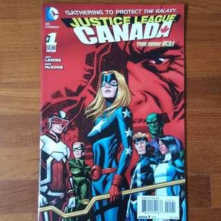 Justice League Canada #1 (2014)