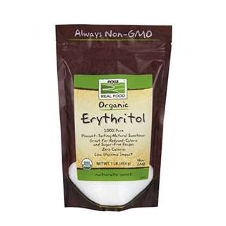 NOW Foods Organic Erythritol,1-Pound