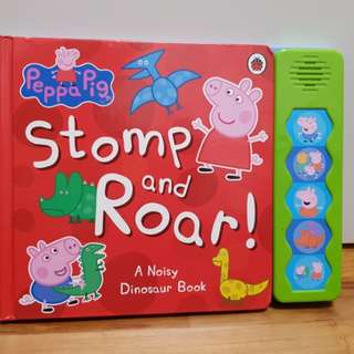Peppa pig stomp and roar book