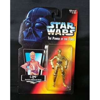 Star Wars C3PO Kenner POTF Power of the Force