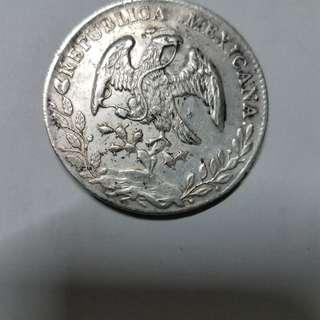 墨西哥银元 1882年版 不二價