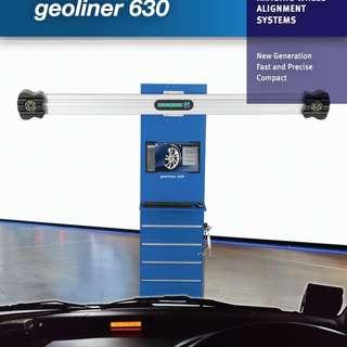 (蕭先生) 好夫曼 HOFMANN Geoliner 630 3D定位機