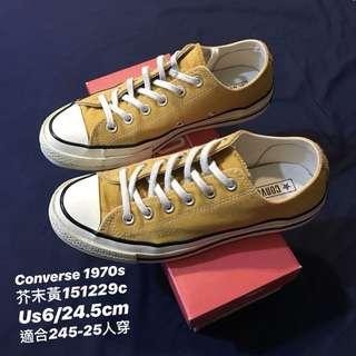🚚 Converse1970s 芥末黃151229c