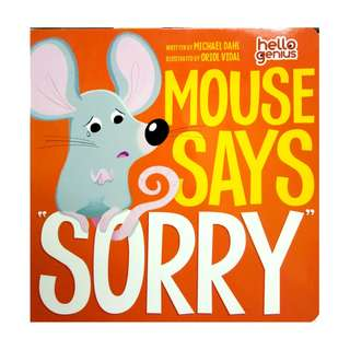 "Mouse Says ""Sorry"""