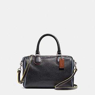 Coach Mini Bennett Satchel with Edgepaint