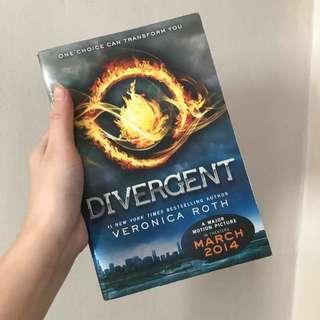 Divergent Books Pre Loved Books