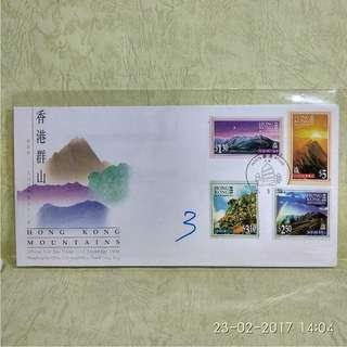 香港郵票-首日封 (3 pcs)