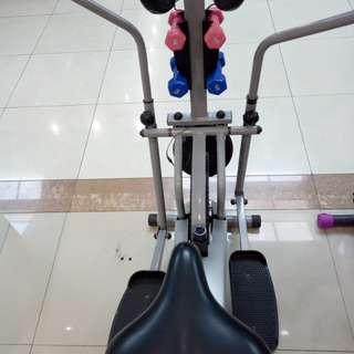 treadmil sepeda bisa kredit cukup bayar 199