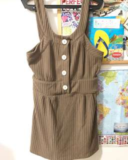Kamiseta Mini Dress Sleeveless Top
