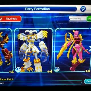 Digimon Links Acc