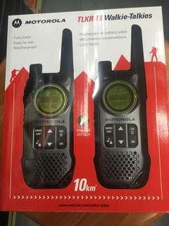 Motorola walkie talkie TLKR-T8