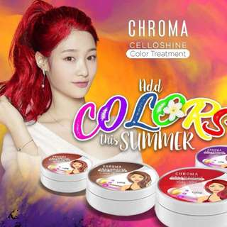 HAIR COLOR (CHROMA CELLOSHINE HAIR COLOR TREATMENT)