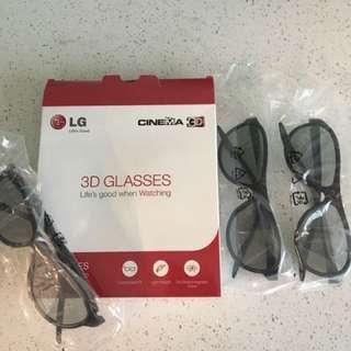 LG 3D glasses 👓