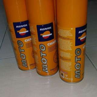 Repsol chain lube