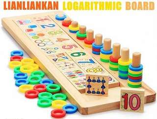 LOGARITHMIC BOARD