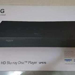 LG 4k Blu-ray player UP970