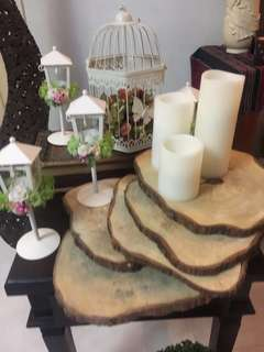 For Rent Rustic Wood Slices for wedding/events decoration