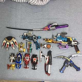 DX Kabuto rider 幪面超人 拉打 變身器 武器 絕版 全套