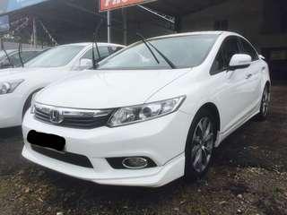 Honda Civic 2.0 AT 2012 Full Spec 1year Warranty