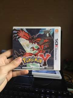 Used 3DS Pokemon Y US Version