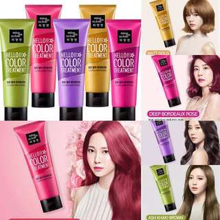 韓國 Mise en scene x hello color treatment 180ml