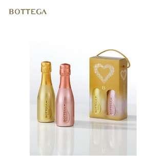 Bottega 瑰麗套裝 金瓶及玫瑰金瓶特級氣泡酒各200毫升