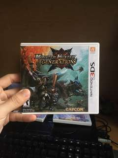 Used 3DS Monster Hunter Generations US Version