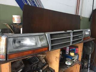 Nissan cedric head lamp set