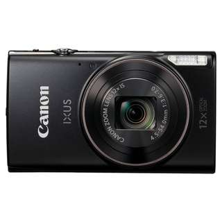 Canon IXUS 285HS Digital Compact Camera - Black