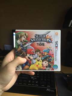 Used 3DS Super Smash Bros US Version