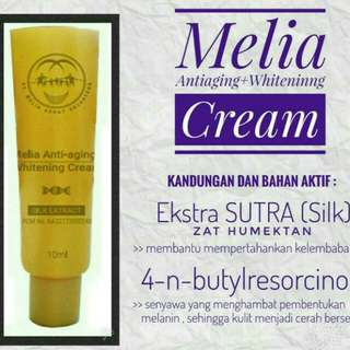 Melia antiaging dan whitening cream