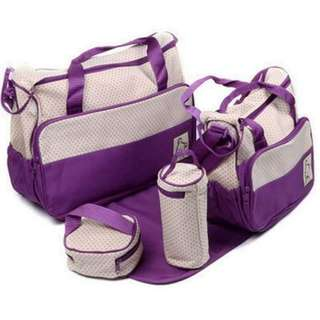 5-in-1 Baby Diaper Bag