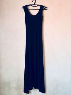 Super Long Backless Dress
