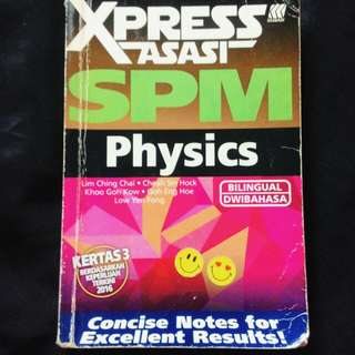 SPM Physics Xpress Reference Book