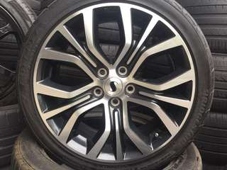 """Used 18"""" rims and tyres"""