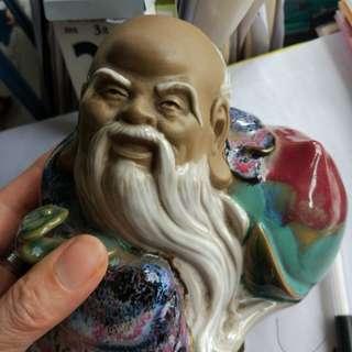 石灣陶瓷壽星