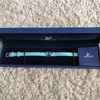 Swarosvki leather bracelet