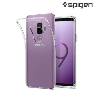 Galaxy S9 Plus Spigen SGP Liquid Crystal 全透明保護軟套 0218A