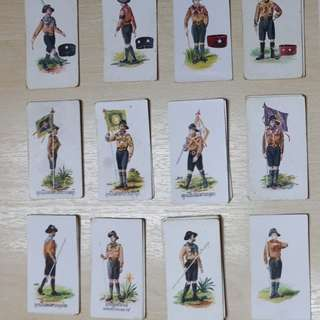 1930s Vintage Collectible 1930s Cigarette Cards issued by Carreras  Tobacco Company,London