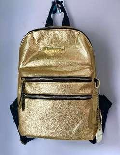 Gold Steve Madden Back Pack Purse