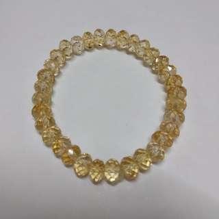 黃晶手鏈(高質)