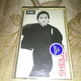 MALAY Jazz Tape Sheila Majid Emosi Cassette EMI RARE Not LP