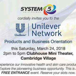 UNILEVER NETWORK We Are Selling Beauty And Health Products By UNILEVER NETWORK