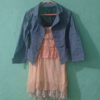 Blouse salem with outer