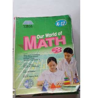 Grade 3 books math and gmrc