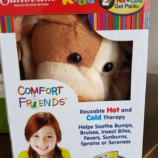 Brand new reusable hot cold pack for kids