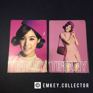 SNSD Tiffany 2nd Japan tour cards