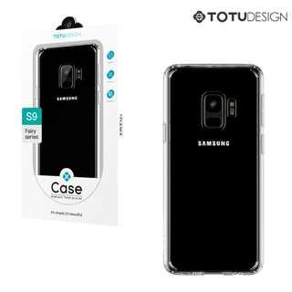 Galaxy S9 SM-G960F TOTU Design 晶靈 軟邊透明硬背殼 保護套 手機殼 0230A