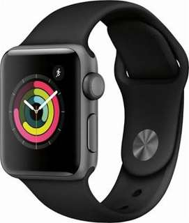 Apple watch iwatch series 3 38mm space gray BNIB New