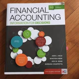 Financial Accounting Textbook NUS recommended